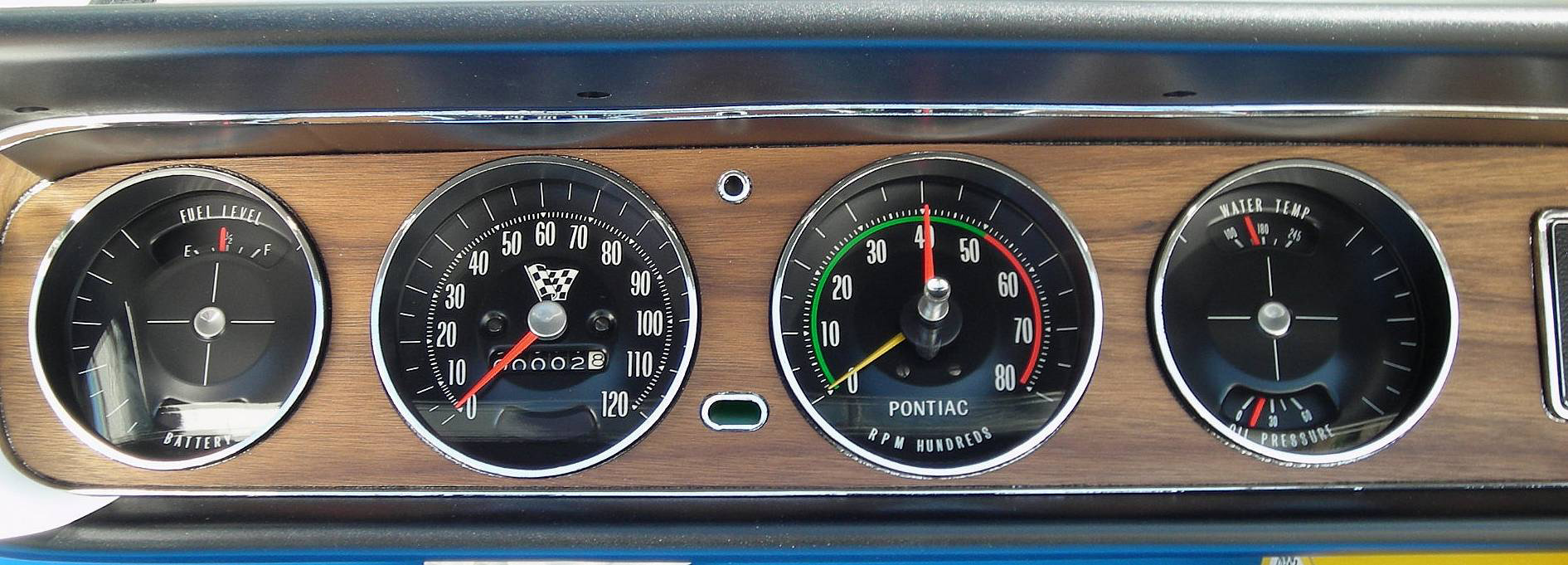 1965 Pontiac Gto Rally Gauge Wiring Diagram Will Be 66 1967 Hood Tachometer 1969